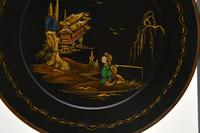 Antique Lacquered Chinoiserie Cake Stand (8 of 11)