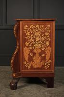18th Century Dutch Marquetry Inlaid Walnut Bombe Shaped Chest (3 of 11)