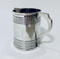 Antique Victorian Solid Silver Christening Cup (10 of 12)