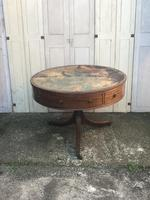 Superb and rare regency country house gentleman's drum table washstand (2 of 26)