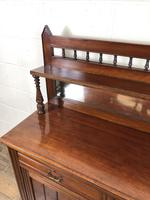Antique Mahogany Sideboard with Mirror Back (5 of 13)