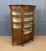 Maple & Co Inlaid Mahogany Display Cabinet (2 of 17)