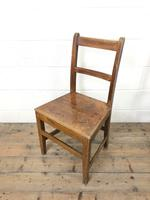 Four Similar 19th Century Welsh Oak Bar Back Farmhouse Chairs (3 of 9)