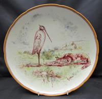 Emile Lessore for Wedgwood, Aesop's Fable Table Compote, 1865 - The Fox & The Stork (2 of 9)
