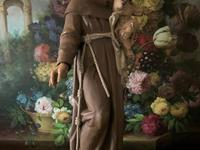 Bohumil Kafka RARE Carved Statue Sculpture St Anthony & Jesus (4 of 32)