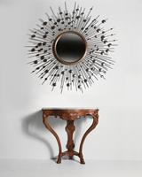 Early 18th Century French Regence Walnut Marble Console Table. (2 of 6)