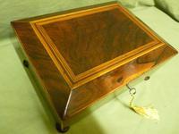 Regency Rosewood Jewellery / Sewing Box - Original Tray + Accessories c.1820 (5 of 15)