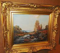 Oil Painting Arran by Archibald Kay. Dated 1927 (2 of 7)
