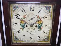 18th Century Longcase Clock Fine Welsh Oak Bala Grandfather Clock Painted Dial c.1844 (12 of 13)