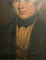 Beautiful Late 18thc Georgian Oil Portrait Painting Of A Young Handsome Chap (6 of 11)