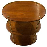 19th Century Teak & Brass Mounted Campaign (5 of 5)