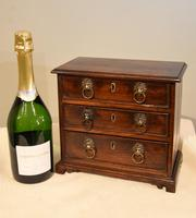 Miniature Mahogany Chest of Drawers (6 of 6)