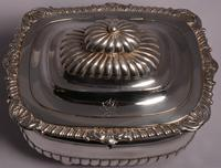 Fine George III Large Silver Tea Caddy by London Silversmiths J. W. Story & W. Elliott, 1811 (5 of 9)