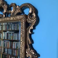 Victorian Gesso Wall Mirror (9 of 19)