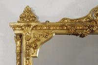 Victorian Gilt Overmantle Mirror (5 of 12)