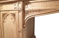 Carved Oak Pedestal Sideboard (9 of 13)