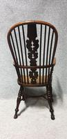 Tall Yew Wood Windsor Chair (4 of 6)