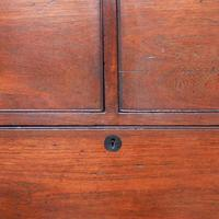 Victorian Teak Two Part Military Chest (10 of 13)