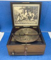Victorian  Walnut Symphonian Music Box (8 of 22)