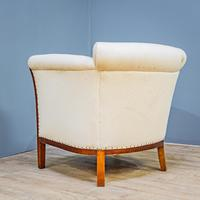 Mahogany Easy Armchair (6 of 8)