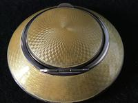 George V Silver & Enamel Compact (3 of 7)