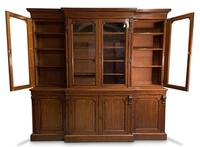 Mid-19th Century Breakfront Bookcase (3 of 7)