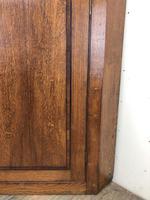 Georgian Oak Wall Hanging Corner Cupboard (3 of 8)