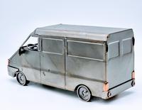 Handmade Steelman Nuts & Bolts Model Van (3 of 7)