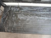 A Funkily Painted Black & Grey Antique/Old Pine Kitchen/Hall Box Settle / Bench (3 of 10)