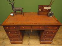 Reproduction Antique Pedestal Desk by Brights of Nettlebed (16 of 16)