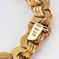 Vintage 18 Carat Gold Bracelet c.1960 (3 of 6)