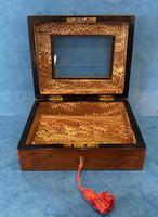 Victorian Walnut Display Box (5 of 11)