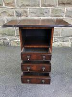 Antique Mahogany Bedside Cabinet (7 of 8)