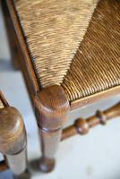 4 Country Spindle Back & Rush Chairs (9 of 11)