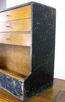 Vintage Black Painted Carpenters Tool Drawers (2 of 8)