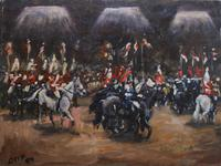 Horses on Parade by Diana Perowne