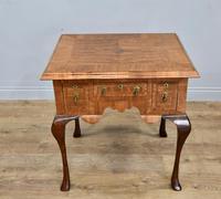 Antique Walnut Lowboy Hall Table (4 of 5)