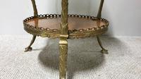 Superb French Brass Mounted Lamp Table (7 of 10)