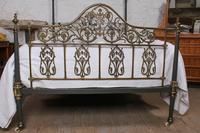 Beautiful Victorian King Size Half Tester Bed by Winfield (2 of 12)