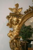Large Antique French Giltwood Mirror (2 of 6)