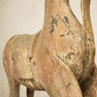Large 19th Century Carved Indian Horse - Original Paint (14 of 14)