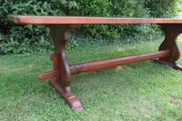 Large French Oak Refectory Dining Table (9 of 12)