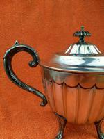 Antique Silver Plate Sheffield Teapot - Art Deco  C1920 (11 of 11)