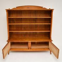 Antique Swedish Biedermeier Satin Birch Bookcase (12 of 12)