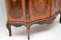 Antique French Marble Top Ormolu Mounted Cabinet (6 of 12)