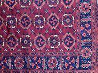 Antique Afghan Beshir Carpet (9 of 11)