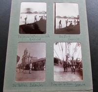 1912 Original High Society Photograph Album.  Tour of Ceylon,  Sicily, Malta, Italy (7 of 7)