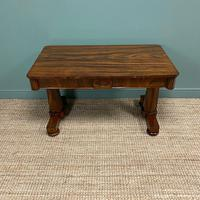 Beautiful Large Victorian Antique Rosewood Writing Table (2 of 6)