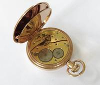 """Antique """"The Angus"""" Full Hunter Pocket Watch (4 of 6)"""