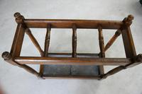 Early 20th Century Oak Stick Stand (6 of 12)